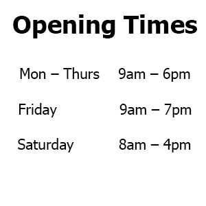 Brush Strokes Hair Salon Blackwater Opening Times